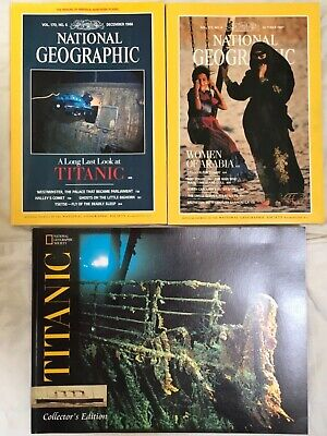 Rare Titanic Magazines from National Geographic