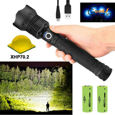 900000LM T6 Cree LED 5 Mode Rechargeable High Power Torch Flashlight Lamps Light