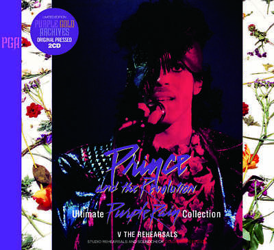 Prince Purple Rain Ultimate Collection V The Rehearsals 1984 CD 2 Discs Set F/S