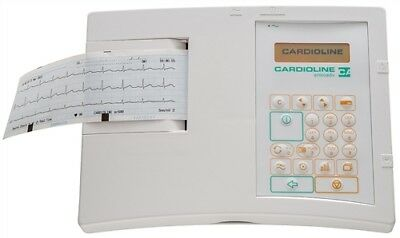 Cardioline ar600adv 3-Channel ECG Monitor & Accessories (Ex Sales Demonstrator)