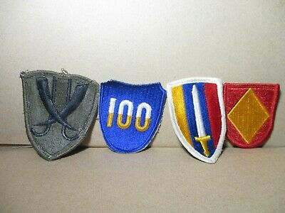 ww2 Era and Mixed Lot Of Patches Lot Of 4