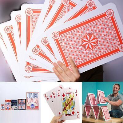 Jumbo Playing Cards Giant Large Huge Size Party Big Deck Family Fun Play Game