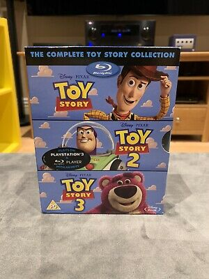 Toy Story - The Complete Collection (4 Disc Blu-ray Set) Toy Story 1 2 3 Trilogy