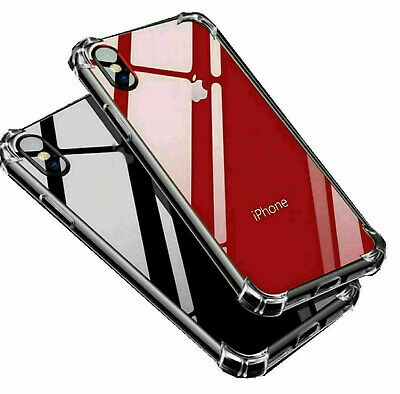 Case for iPhone 11 Pro SE 6s 7 XR XS 5s ShockProof Soft Phone TPU Silicone Cover