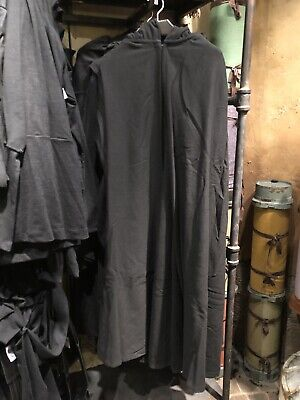 Disneyland Disney Parks Star Wars Galaxy's Edge Jedi Robe Black Costume Cosplay