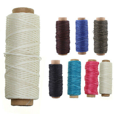 Waxed Thread Hand Sewing Wax Stringm Leather 1 Roll Of 50M 150D 1mm Cord String