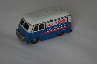 Blech Auto Lieferwagen Japan Air Express Friktion Tin Toy