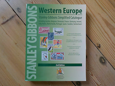 Western Europe Simplified Stamp Catalogue 2nd Edition by STANLEY GIBBONS B