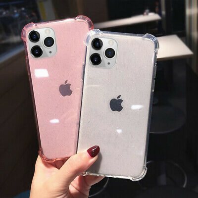 Shockproof Transparent Silicone Case Cover For iPhone 11 Pro Max XR XS X 8 7 6S