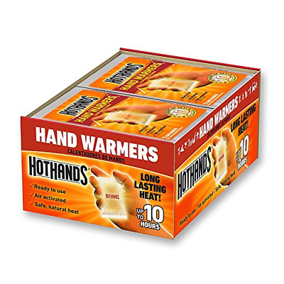 HotHands Hand Warmers 1 5 10 20 40 Pairs Safe Natural Heat Exp 6-23 FREE  SHIP