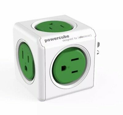 PowerCube Original Cable And Adapter By Allocacoc-BRAND NEW !