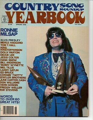 Country Song Roundup Yearbook Magazine Spring 1978 Ronnie Milsap Dolly Parton