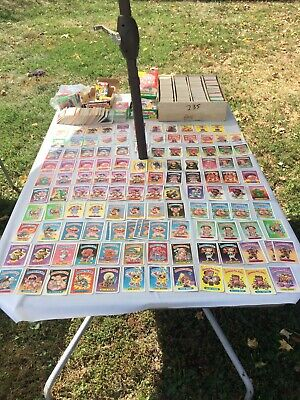 Garbage Pail Kids HUGE Lot 3500 Cards Vintage GPK Series 1 Through 12 1980's