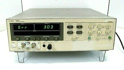 AGILENT 8508A VECTOR VOLTMETER, As IS