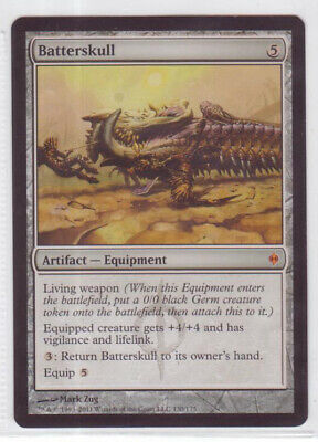 """Magic: The Gathering MTG New Phyrexia """"Batterskull"""" x1 1x SP/NM (A)"""
