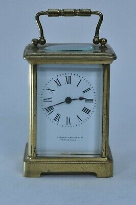 Antique Tilden Thurber Providence French France Carriage Clock