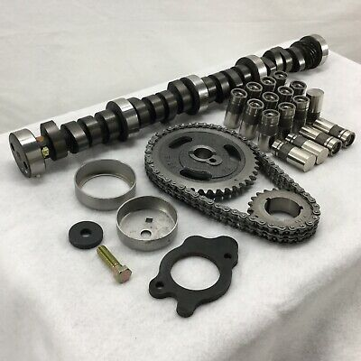 SBF 289 302 Stage 2 Camshaft /& Lifters Kit for Ford w// 448//472 Lift ZDDP MC1734