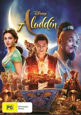Aladdin (DVD, 2019) Available Now! New! Sealed! Region 4