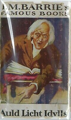 Auld Licht Idylls by J M Barrie Vintage Edition Hardcover Book with Dust Jacket