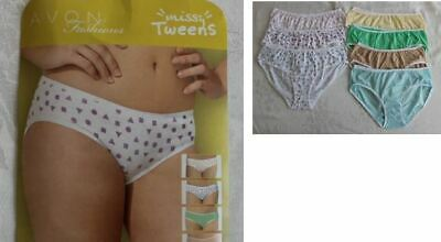 Pack of 7 BRIEFS HIPSTER Pre Teens Tweens Girls  Ladies Pants Underwear Knickers