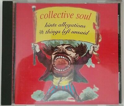Collective Soul - Hints Allegations and Things Left Unsaid - Cd