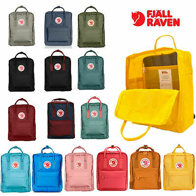 New Fjallraven Kanken Backpack School 20/16/7 L Sport Leisure Trend Bag Backpack