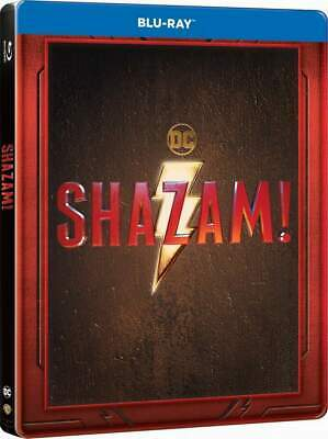 """SHAZAM!"" - DC Superhero Fantasy Action - ltd BLU RAY STEELBOOK Embossed"