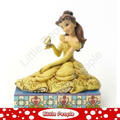 Jim Shore Curious And Kind - Belle With Chip Figurine Disney Traditions Retired