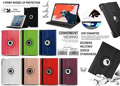 Case For iPad 9.7 2017 2018 Air 2 Mini 1 2 3 4 Pro 10.5 Leather Flip Card Cover