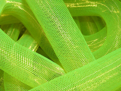 Neon Yellow Non-Metallic Tubular Crin Cyberlox