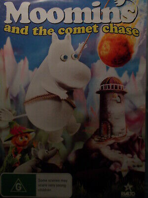 Dvd - Moomins And The Comet Chase - Region 4 - New & Sealed Title Song By Bjork