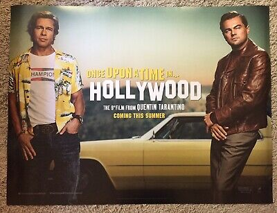 """Once Upon a Time in Hollywood (2019), Original UK Cinema Quad Poster 30""""x40"""""""