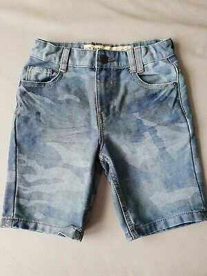 Boys Jeans Shorts Size6-7y