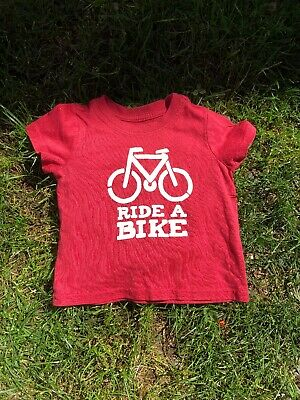 Tucker And Tate 12 Month T Shirt Ride A Bike Boys Or Girls