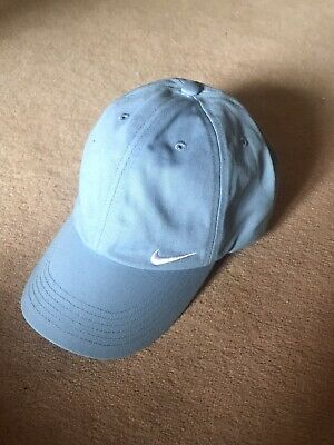 Nike Baseball Cap New Tags Baby Blue Hat Youth Unisex One Size Adjustable Strap