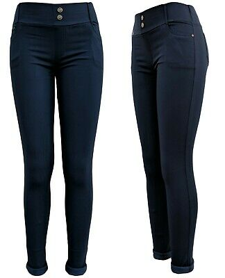 Winter Leggings - Stretchjeans - Thermo-Jeggings - Skinny Jeans gefüttert  36-46