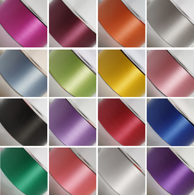 """2"""" 50mm Wide Poly Ribbon For Wedding Florist Gift Craft Decorations"""