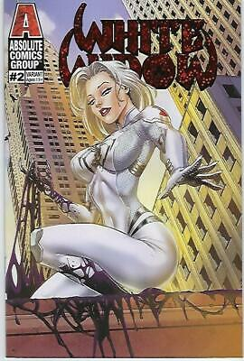 White Widow # 2 Anthony Spay's Sunrise Foil Variant Cover Edition !!  Nm