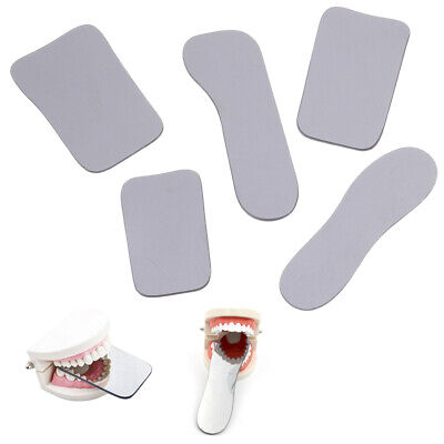 1Pcs Dental Orthodontic Photo Mirror Intra Oral Mouth Mirrors Glass Reflect 0U