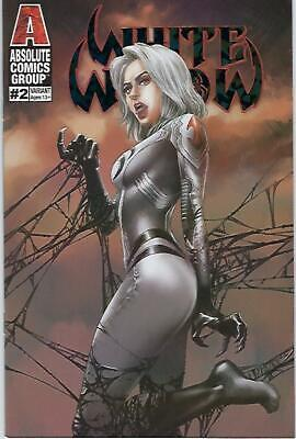 White Widow # 2 Ryan Pasibe Dusk Foil Variant Cover Edition !!  Nm