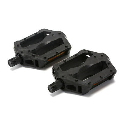 1Pair Bike Bicycle Plastic Pedals Mountain Road Bike Part Pedal black co RAC