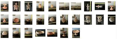 Pre-Columbian Antique Pottery Lot~ 24 Pieces ~ Good Condition
