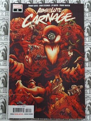 Absolute Carnage (2019) Marvel - #3, 1st Print, Donny Cates/Ryan Stegman, NM