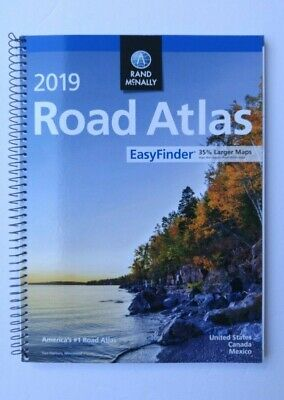 Rand Mcnally USA Road Atlas 2019 Travel Maps United States Road Maps Easy Finder