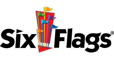 Six Flags Amusement Theme Park One Day General Admission Ticket for 2019 Season