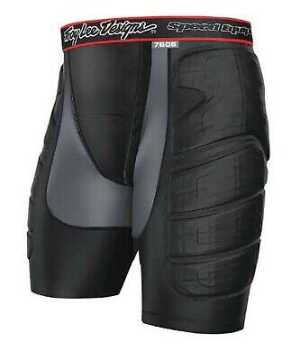 Troy Lee Designs 7605 Protection Shorts Black LPS7605 - Size L