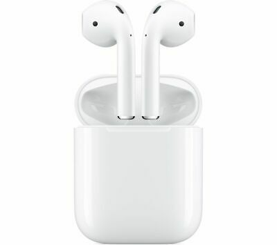 Apple AirPods 2nd Gen with Wireless Charging Case (Latest Model - 2019)