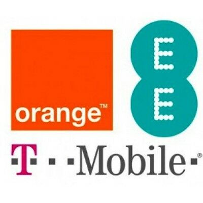 UNLOCK CODE SERVICE FOR iPhone 7 6s 6 5 5S 5C SE 4 4S FOR EE ORANGE T-MOBILE UK