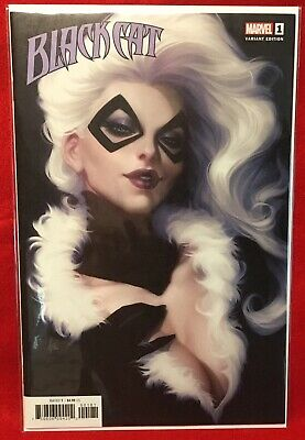 Black Cat #1 Artgerm Variant Stanley Artgerm Lau Comic Book Marvel Comics Nm