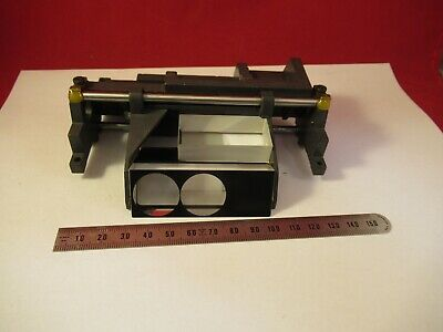 Leica Germany Head Optics Prism Assembly Microscope Part As Pictured &96-A-02